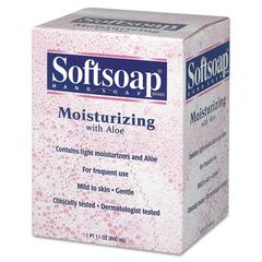 Moisturizing Soap w/Aloe, Unscented Liquid, Dispenser, 800mL