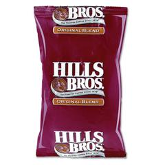 Hills Bros. Original Coffee, 1.1oz Packet, 42/Carton