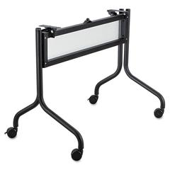 Safco Impromptu Series Mobile Training Table Base, 37-1/2w x 24d x 28h, Black