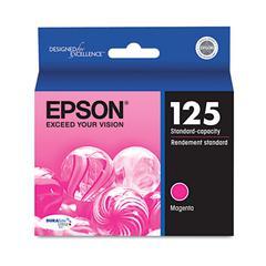 Epson T125320 (125) DURABrite Ultra Ink, Magenta