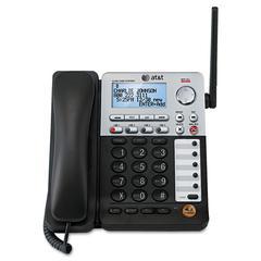 SB67148 Additional Cordless 4-Line Deskset for SB67138 Base