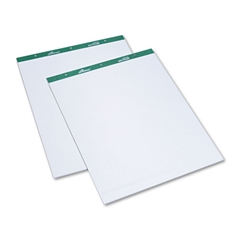 Flip Charts, 1 Quadrille, 27 x 34, White, 50 Sheets, 2/Pack