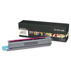 Lexmark X925H2MG High-Yield Toner, 7,500 Page-Yield, Magenta