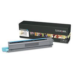 Lexmark C925H2CG High-Yield Toner, 7,500 Page-Yield, Cyan