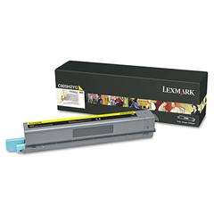 C925H2YG High-Yield Toner, 7,500 Page-Yield, Yellow