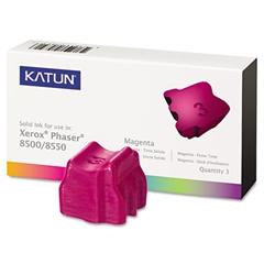 Katun 37984 Compatible 108R00670 Solid Ink Stick, Magenta, 3/BX