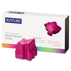Katun 37976 Compatible 108R00661 Solid Ink Stick, Magenta, 3/BX