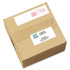 Permanent Adhesive Postage Meter Labels, 1 1/2 x 2 3/4, White, 160/Pack