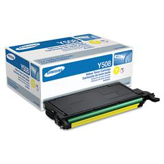 Samsung CLTY508S Toner, 2,000 Page-Yield, Yellow