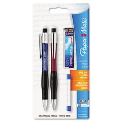 Paper Mate ComfortMate Ultra Pencil Starter Set, Ast Brl; 0.5 mm, Ref