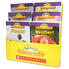 Science Vocabulary Readers: Wild Weather, 36 books/Six Titles and Teaching Guide