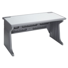 Aspira Modular Desk, Resin, 60w x 28d x 30h, Charcoal