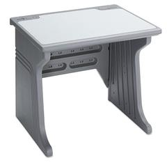Aspira Modular Desk, Resin, 34w x 28d x 30h, Charcoal