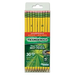 Pre-Sharpened Pencil, HB, #2, Yellow Barrel, 30/Pack