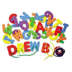 Creativity Street WonderFoam Lacing Letters & Numbers