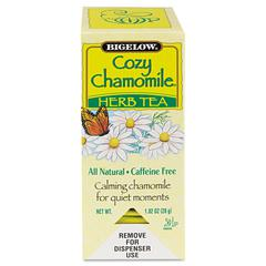 Single Flavor Tea, Cozy Chamomile, 28 Bags/Box