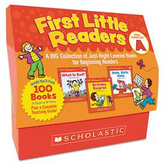 Scholastic First Little Readers Level A, Pre K-2
