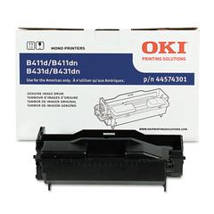 Oki 44574301 Drum, 30,000 Page-Yield, Black
