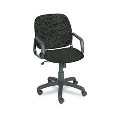 Safco Cava Urth Collection High Back Swivel/Tilt Chair, Black