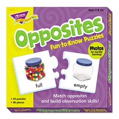 TREND Fun to Know Puzzles, Opposites