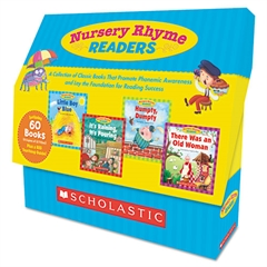 Scholastic Nursey Rhyme Readers, 60 books, teaching guide, PreK-1
