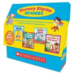 Nursey Rhyme Readers, 60 books, teaching guide, PreK-1