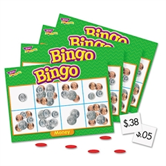 TREND Young Learner Bingo Game, Money