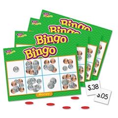 Young Learner Bingo Game, Money