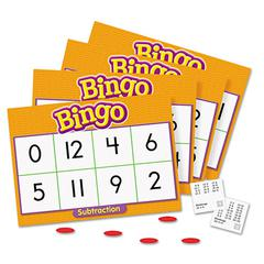 Young Learner Bingo Game, Subtraction