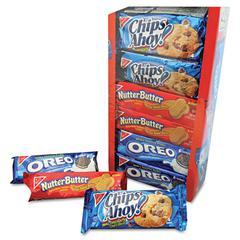 Variety Pack Cookies, Assorted, 1 3/4oz Packs, 12 Packs/Box