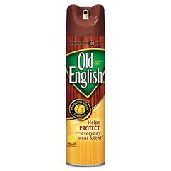 OLD ENGLISH Furniture Polish, 12.5oz Aerosol, 12/Carton