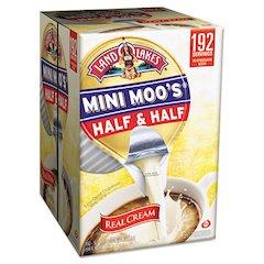 Land O' Lakes Mini Moo's Half & Half, .5oz, 192/Carton