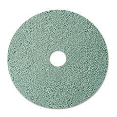 """3M Burnish Floor Pad 3100, 20"""", Aqua, 5/Carton"""