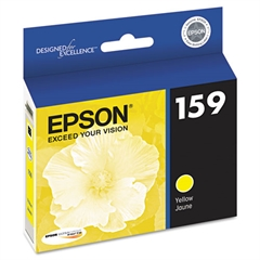 Epson T159420 (159) UltraChrome Hi-Gloss 2 Ink, Yellow