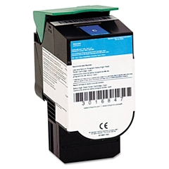 39V2431 Extra High-Yield Toner, 4,000 Page-Yield, Cyan