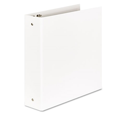 "Aurora Products Elements Eco-Friendly Round Ring Binder, 2"" Capacity, White"