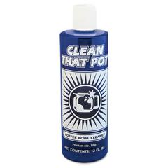 Clean That Pot Coffee Bowl Cleaner, 12oz Bottle