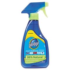 Pledge Multi-Surface Cleaner, Clean Citrus Scent, 16oz Trigger Bottle, 6/Carton