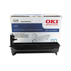 Oki 44318503 Drum, 20,000 Page-Yield, Cyan