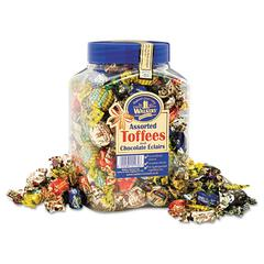Assorted Toffee, 2.75lb Plastic Tub