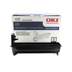 Oki 44318504 Drum, 20,000 Page-Yield, Black