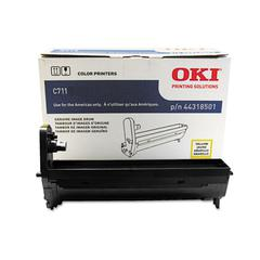 Oki 44318501 Drum, 20,000 Page-Yield,Yellow