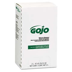 GOJO MULTI GREEN Hand Cleaner Refill, 2000mL, Citrus Scent, Green, 4/Carton