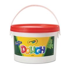 Crayola Modeling Dough Bucket, 3 lbs., Red