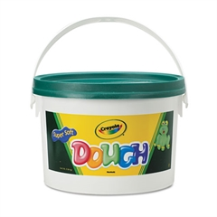 Modeling Dough Bucket, 3 lbs., Green