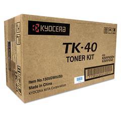 TK40 Toner, 9,000 Page-Yield, Black