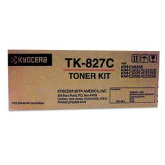 TK827C Toner, 7,000 Page-Yield, Cyan