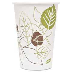 Pathways Paper Hot Cups, 16oz, 1000/Carton