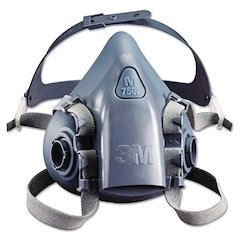 Half Facepiece Respirator 7500 Series, Reusable