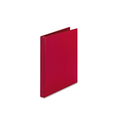 "Avery Economy Non-View Binder with Round Rings, 11 x 8 1/2, 1/2"" Capacity, Red"